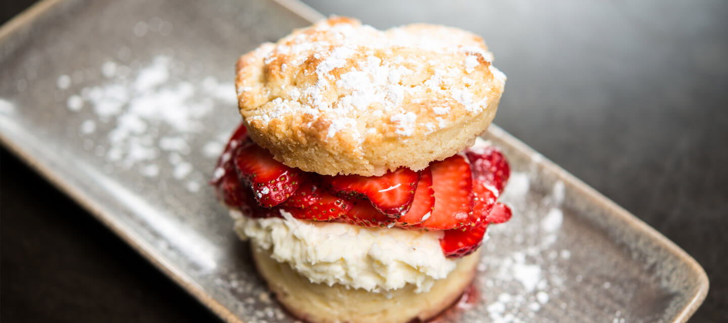 Oregon Strawberry Shortcake